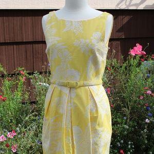 Yellow Eliza J Dress